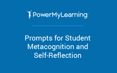 Prompts for Student Metacognition and Self-Reflection